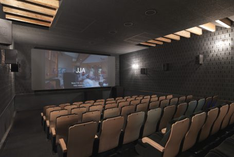 Renovation of warehouse as a cinema ZumZeig, Barcelona