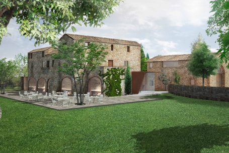 FARM HOUSE (MASIA) RENOVATION  IN CANET D'ADRI FOR A HOTEL
